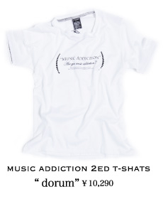 MUSIC ADDICTION 2ed T-SHATS dorum
